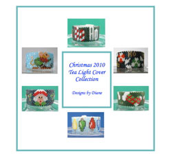 2010 Christmas Tea Light Cover Collection