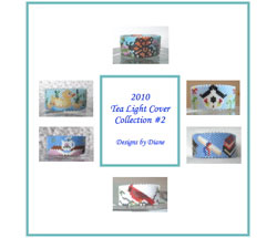 2010 Tea Light Cover Collection 2