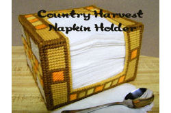 Country Harvest Napkin Holder