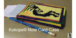 Kokopelli Notecard Case