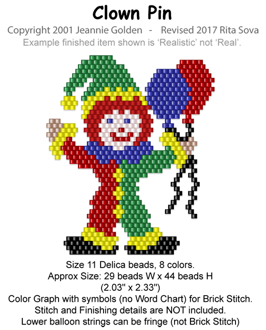 Clown Pin 1