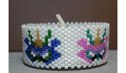 Mardi Gras Tea Light Cover
