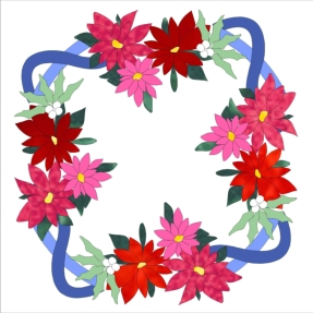 582-4 Winter Wreath