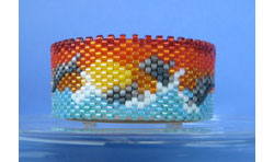 Dolphins At Sunset Tea Light Cover