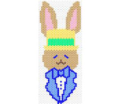 Easter Bunny Bookmark/Mini Tapestry