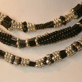 Tila bead necklaces