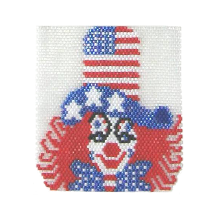 Happy 4th of July Clown Pendant