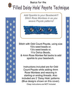 'Filled Daisy Hole' Peyote Technique