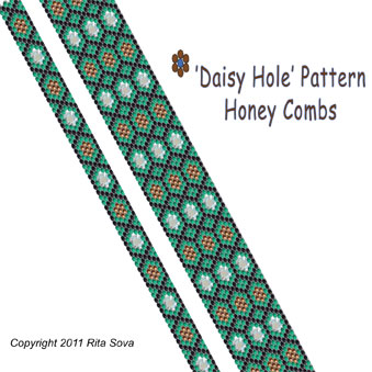 'Daisy Hole' Pattern - Honey Combs