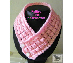 Knitted Tiles Neckwarmer