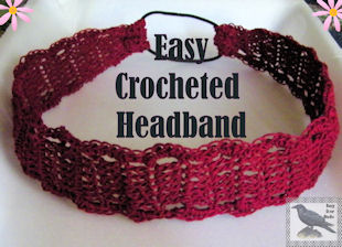Easy Crocheted Headband