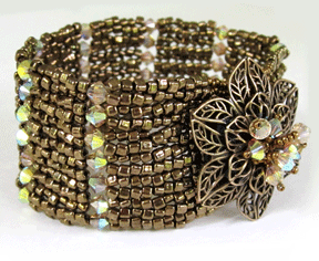 Filigree Focal Cuff