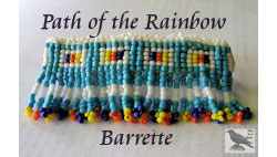 Path of the Rainbow Barrette