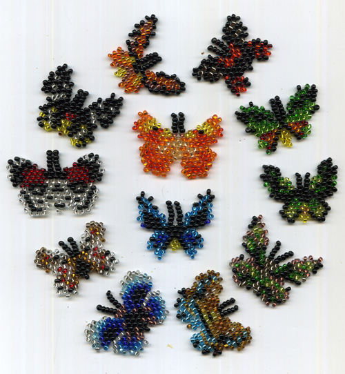 12 Tiny Butterflies (Micro)