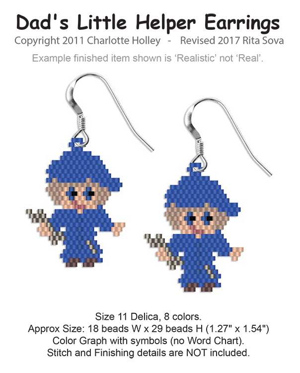 Dad's Little Helper Earrings