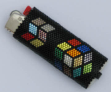 Scinti-Cube Lighter Cover