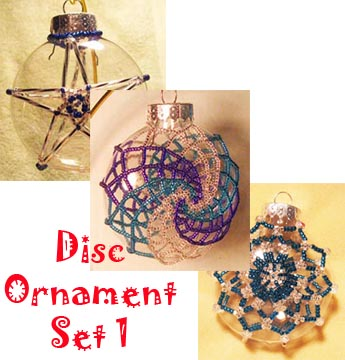 Disc Ornament Set