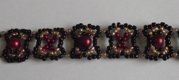 Burgundy Beauty Bracelet