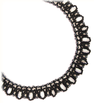 Midnight Lace Necklace