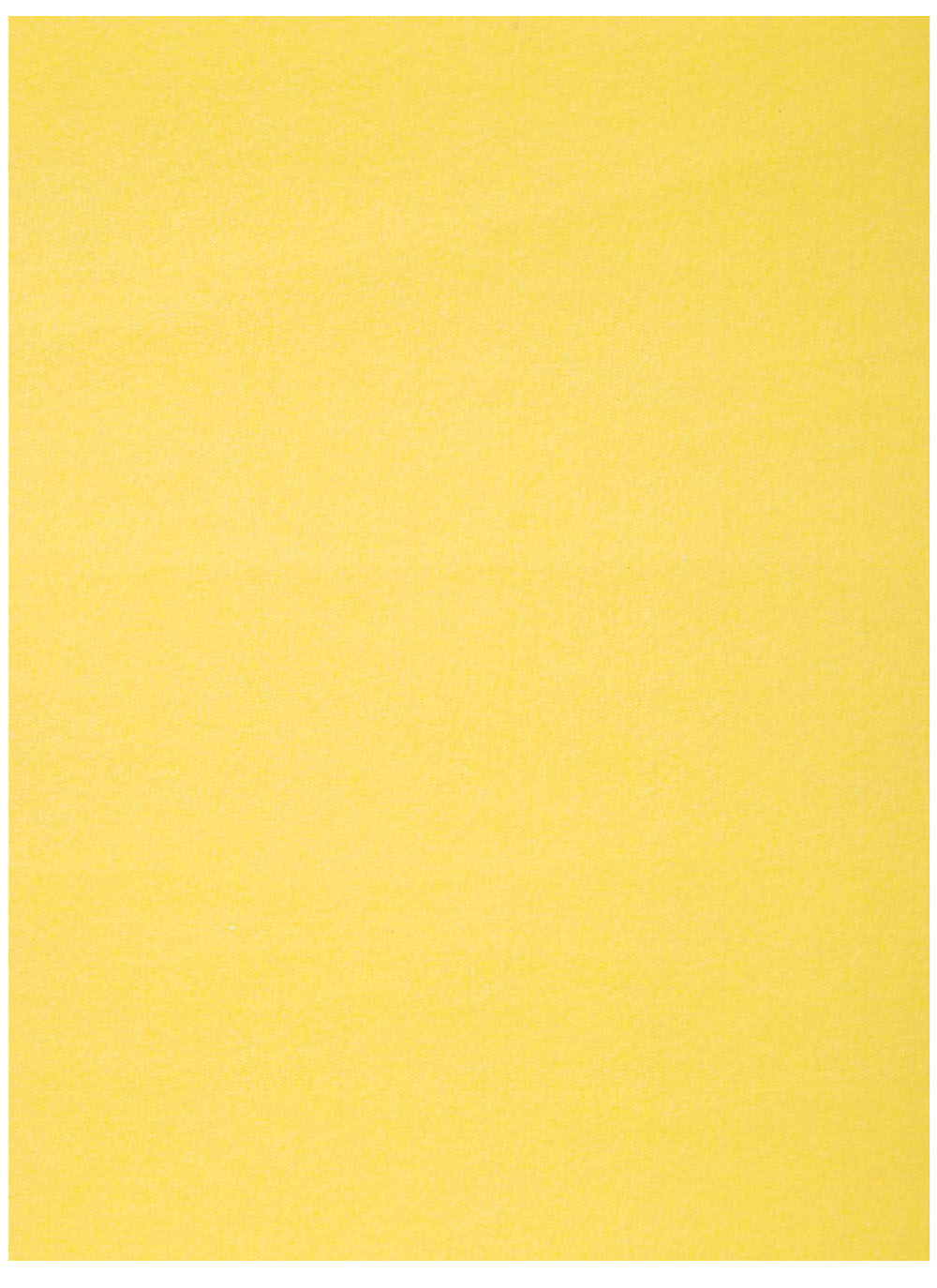 "Stiff Felt 9"" x 12"" x 1.5mm - Yellow"