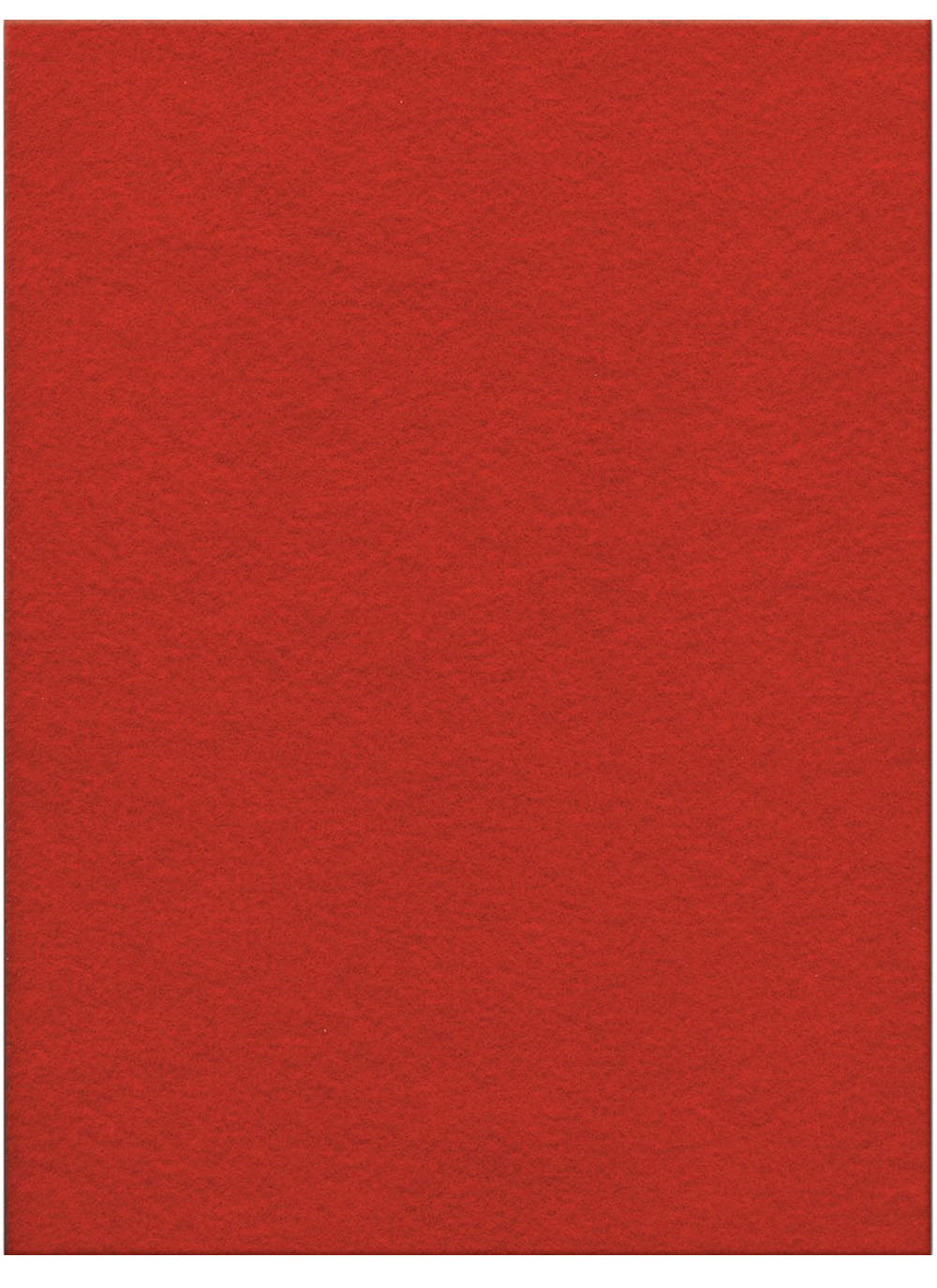"Stiff Felt 9"" x 12"" x 1.5mm - Burgandy"