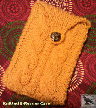 Knitted E-Reader Case