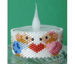 Mouse Valentine Tea Light Cover