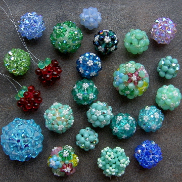 Basic Beaded Beads II - Crystal Balls e-book