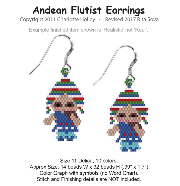 Andean Flutist Earrings