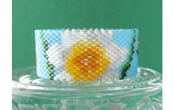 Daffodil (Narcissus) Tea Light Cover