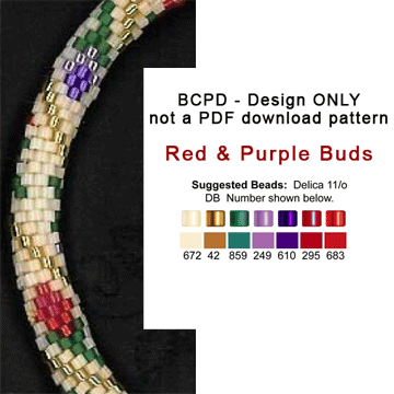 BCPD - Red & Purple Buds