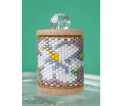 Easter Lily Spool Ornament