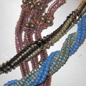 Super Beaded Chains for necklaces and bracelets