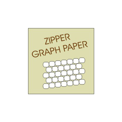 ZIPPER GRAPH PAPER - bead crochet