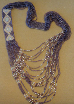 Diamond 1 Side Loom Necklace