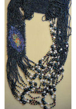 My Galaxy Side Loom Necklace