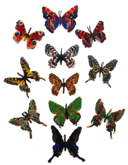 11 Palearctic Butterflies