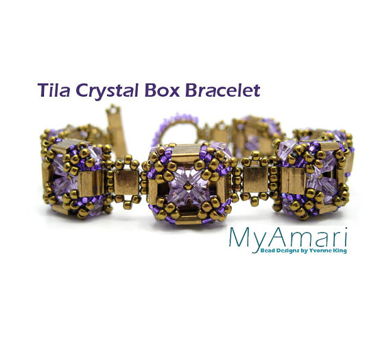 Tila Crystal Box Bracelet
