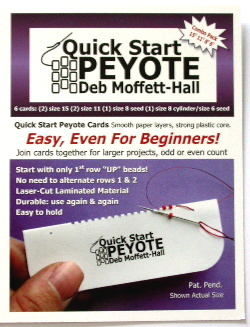 Quick Start Peyote Cards (6 Card Combo Pack)