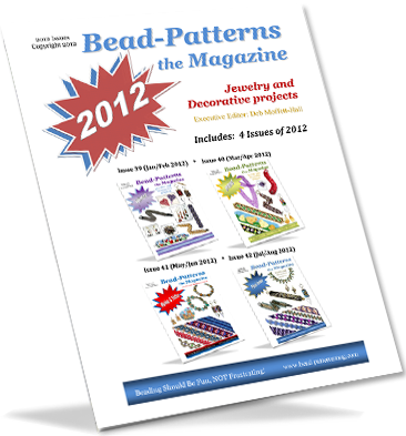 2012 Issues of Bead-Patterns the Magazine