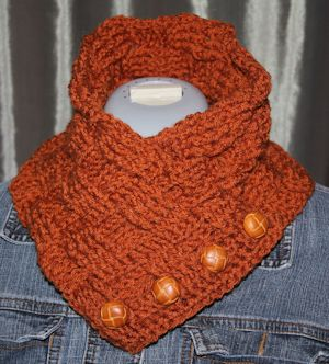 Basketweave Neckwarmer