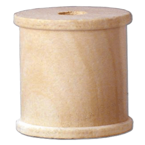 "Wooden Spool 1/2"" x 1/2"" (12 per package)"