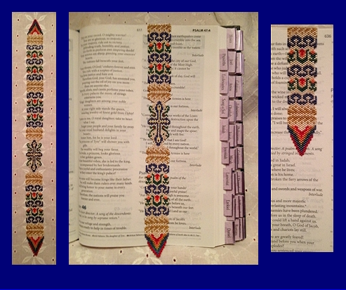 Holy Cross Magnetic Bible Bookmark