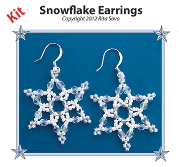Snowflake Earring Kit