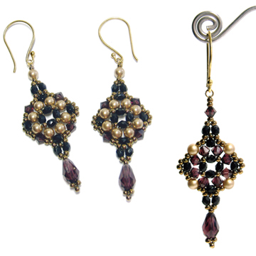Tuscan Drop Earrings