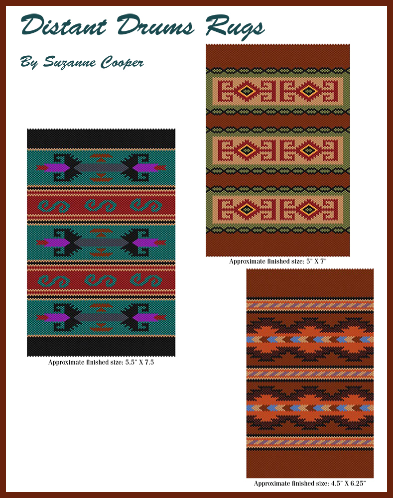 Distant Drums Rugs Set (3 Rug Patterns)