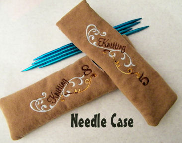 Needle Case for DP Knitting Needles