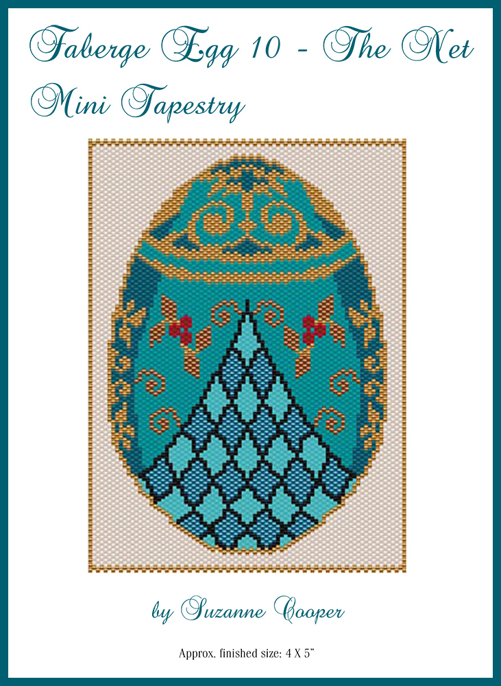 Faberge Egg 10 The Net Mini Tapestry