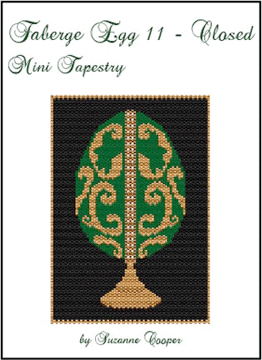 Faberge Egg 11 Closed Mini Tapestry