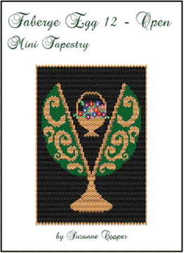 Faberge Egg 12 Open Mini Tapestry